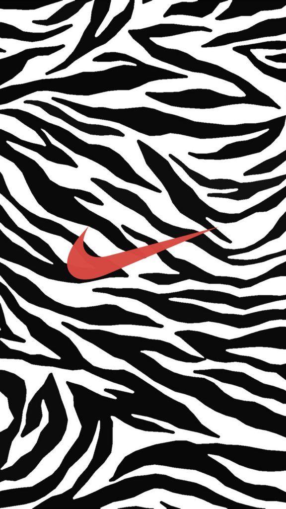 ゼブラ柄 ナイキロゴ Nike Logo Nike Wallpaper Iphone Wallpaper Cool Adidas Wallpapers