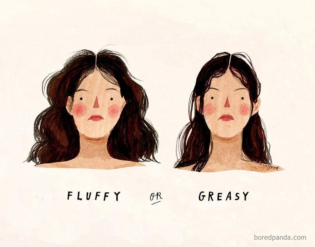 50 Women's Hair Problems That Men Will Not Understand