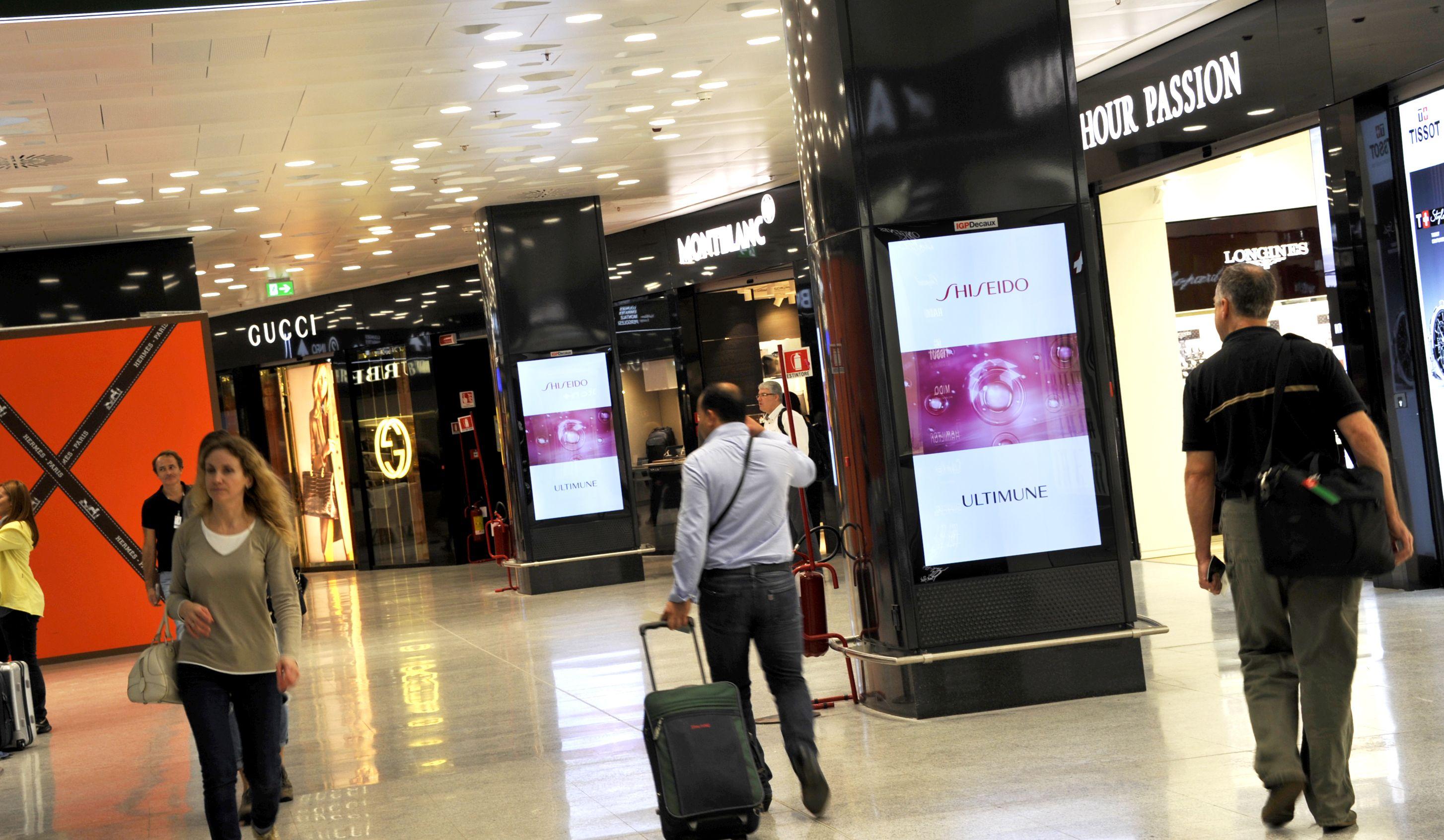 Aeroporti - Shiseido - Milano Malpensa #IGPDecaux #Shiseido #Milano #Malpensa
