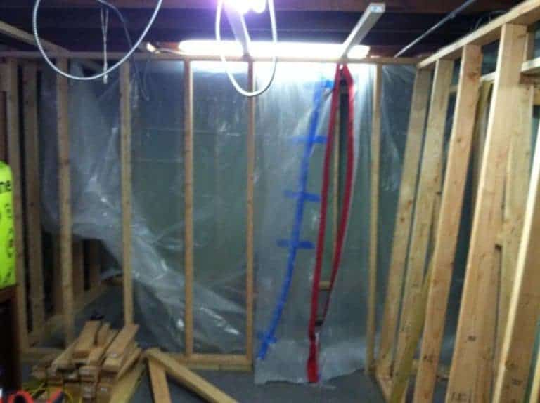 basement makeover from concrete to complete basement basement rh pinterest com
