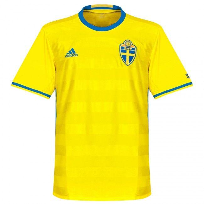 0d8ade8ef1 Camiseta de Suecia 2016-2017 Local  Eurocopa2016  Euro