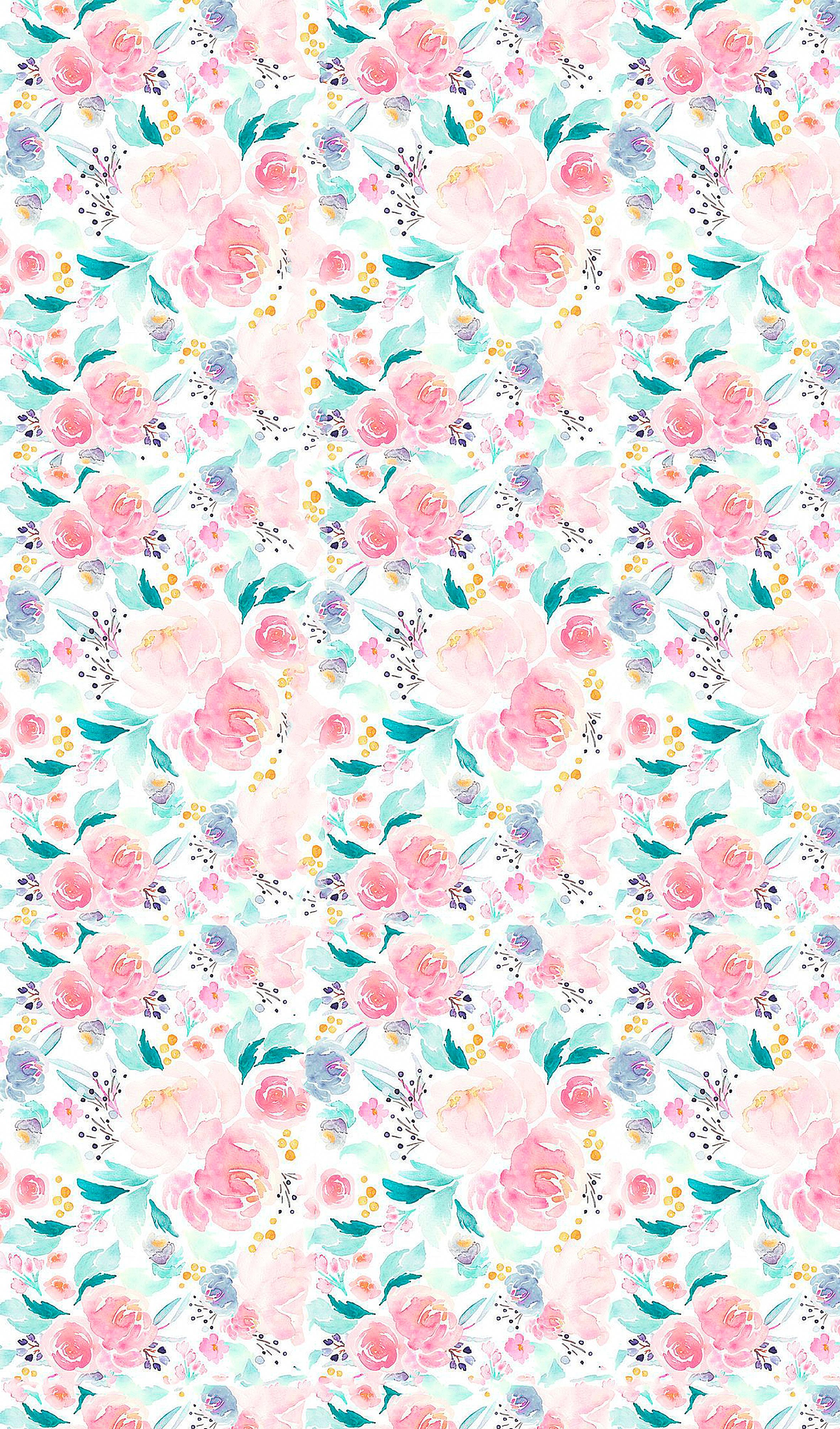 Wallpaper Iphone Iphonewallpapertumblr Vintage Flowers Wallpaper Flowery Wallpaper Wallpaper Iphone Cute