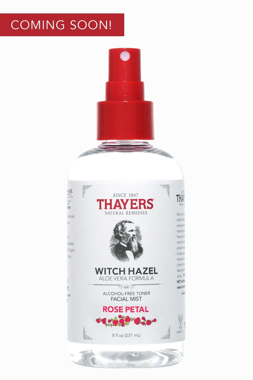 thayers witch hazel rose
