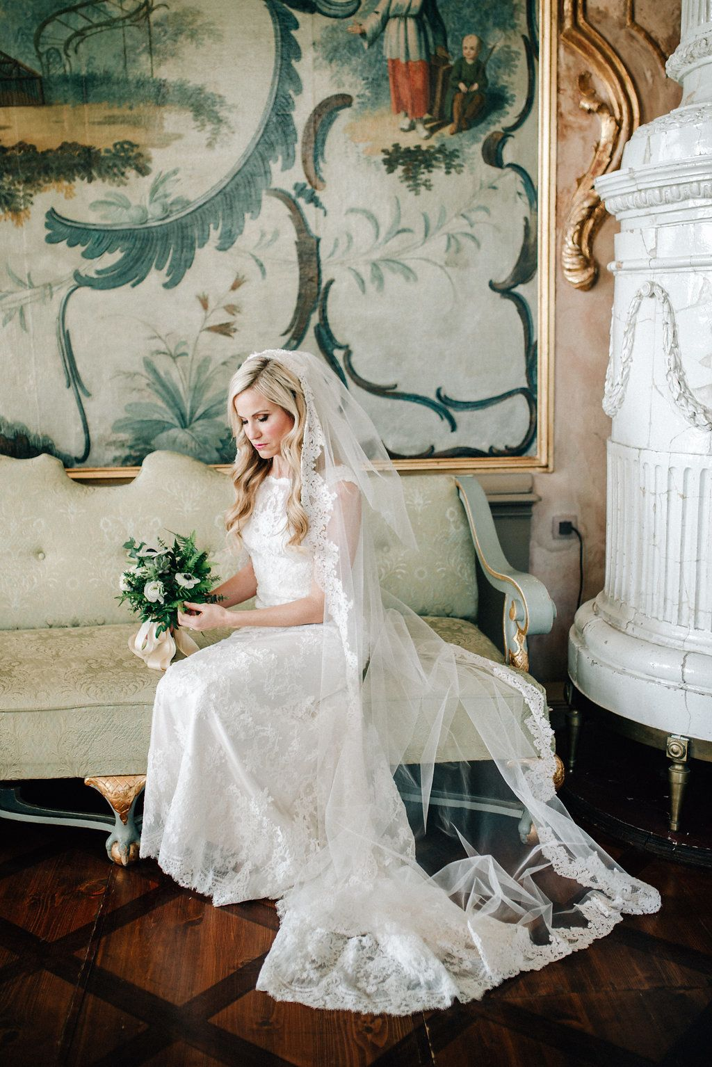 Sound of music wedding dress  From the Sound of Music to a Wildly Romantic Wedding Celebration