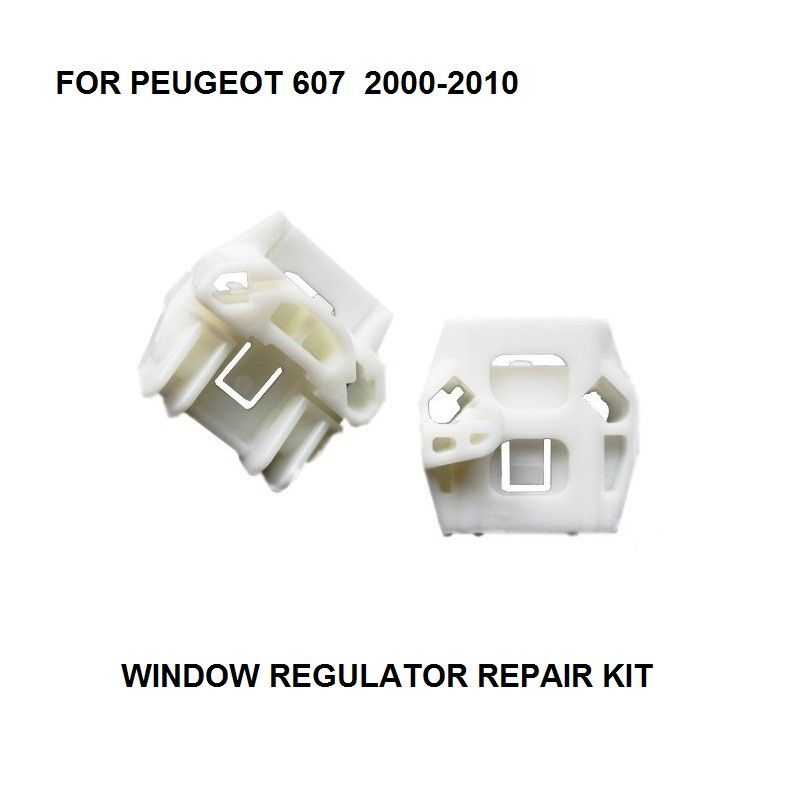 Window Regulator Repair Kit For Peugeot 607 Electric Window Regulator Clip Front Right Side New 2000 2010 Repair Peugeot Auto