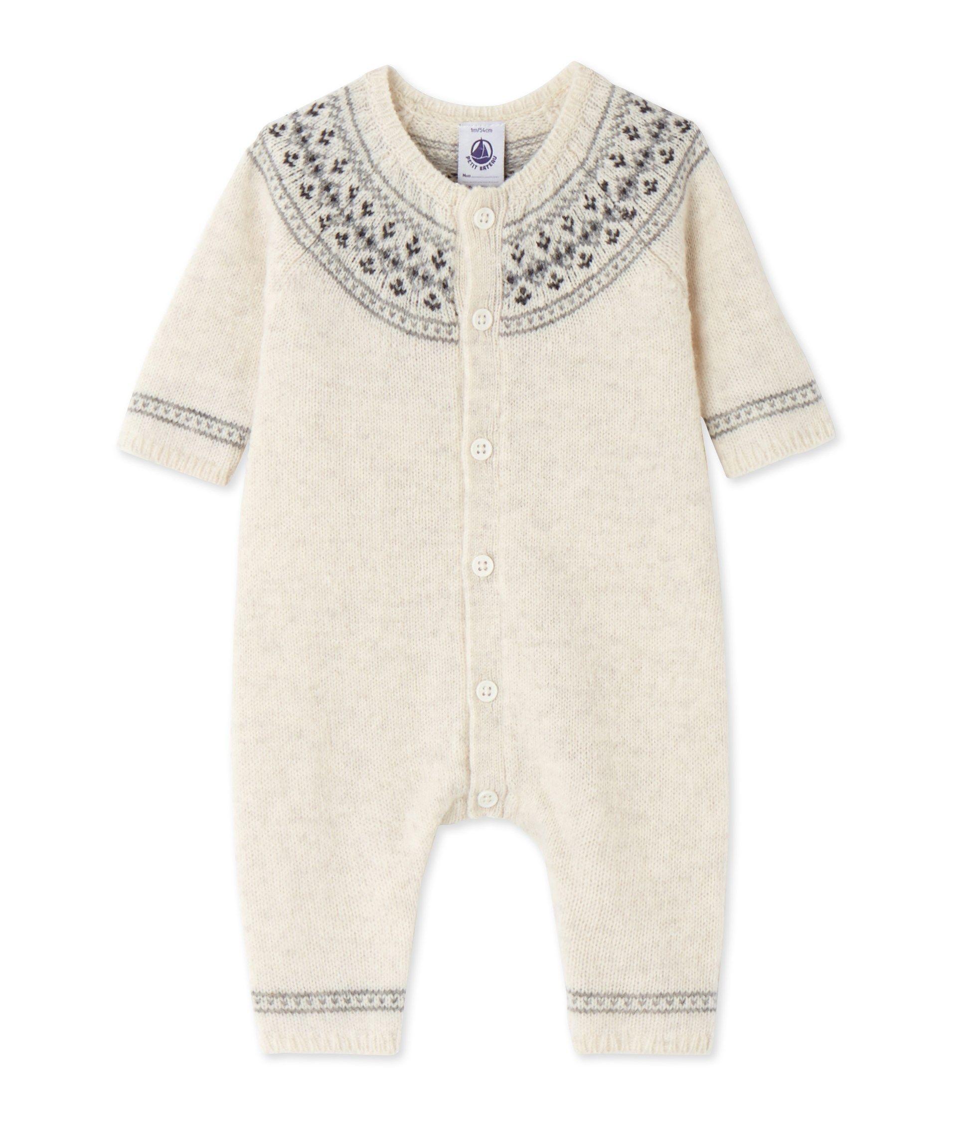 c38a8c5aa527 Exclu web - Combinaison bébé mixte en tricot   Vêtements bébé garçon
