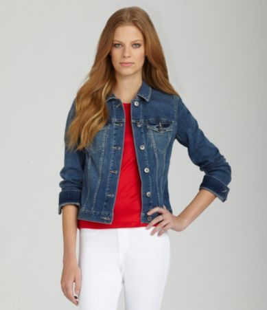 801cae0caf TWO by Vince Camuto Jean Jacket