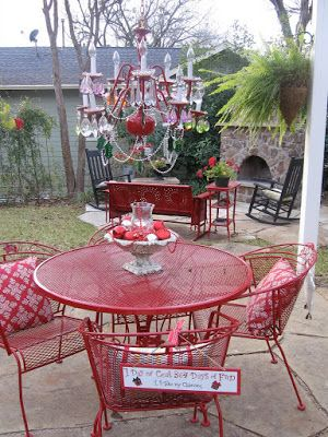 Glimpse Of My World Outdoor Fun Painting Patio Furniture