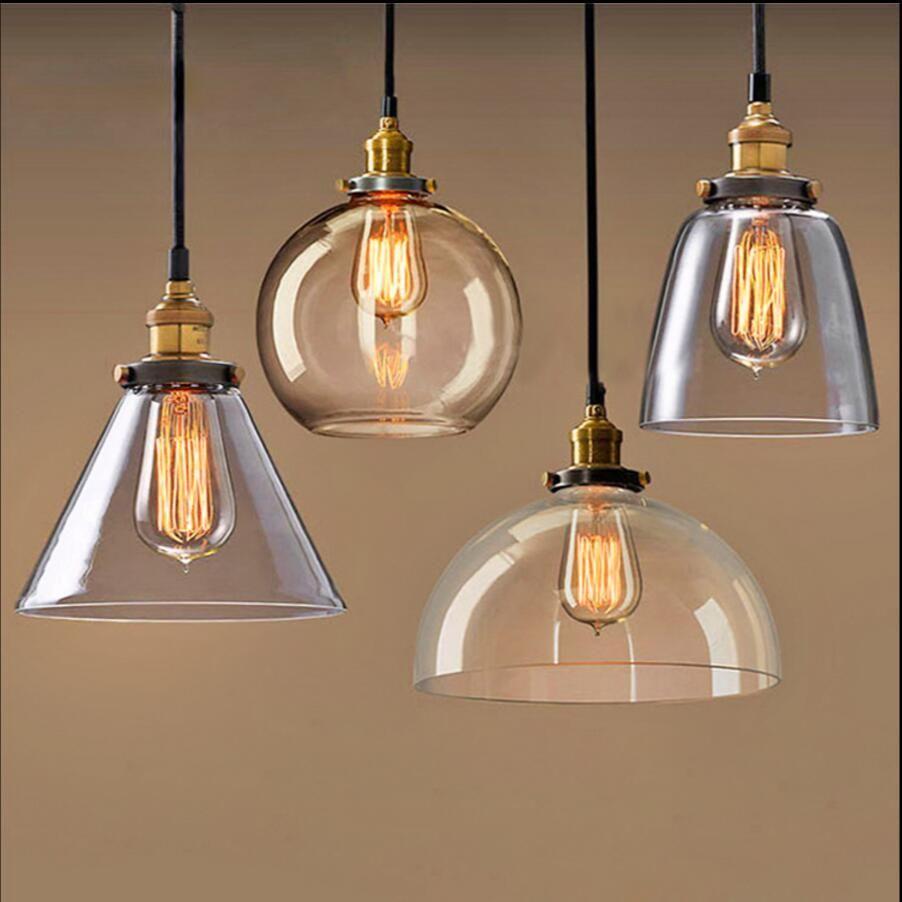 Gala Vintage Pendant Lighting Pendant Lamp Glass Pendant Lamp