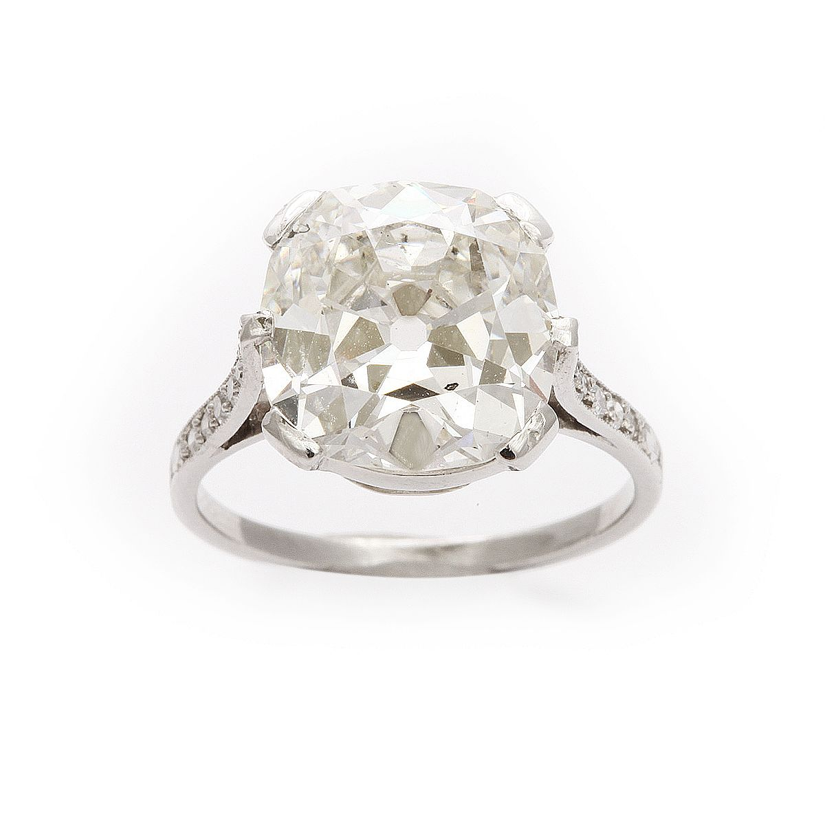 1920s cushion diamond ring well hello most perfect