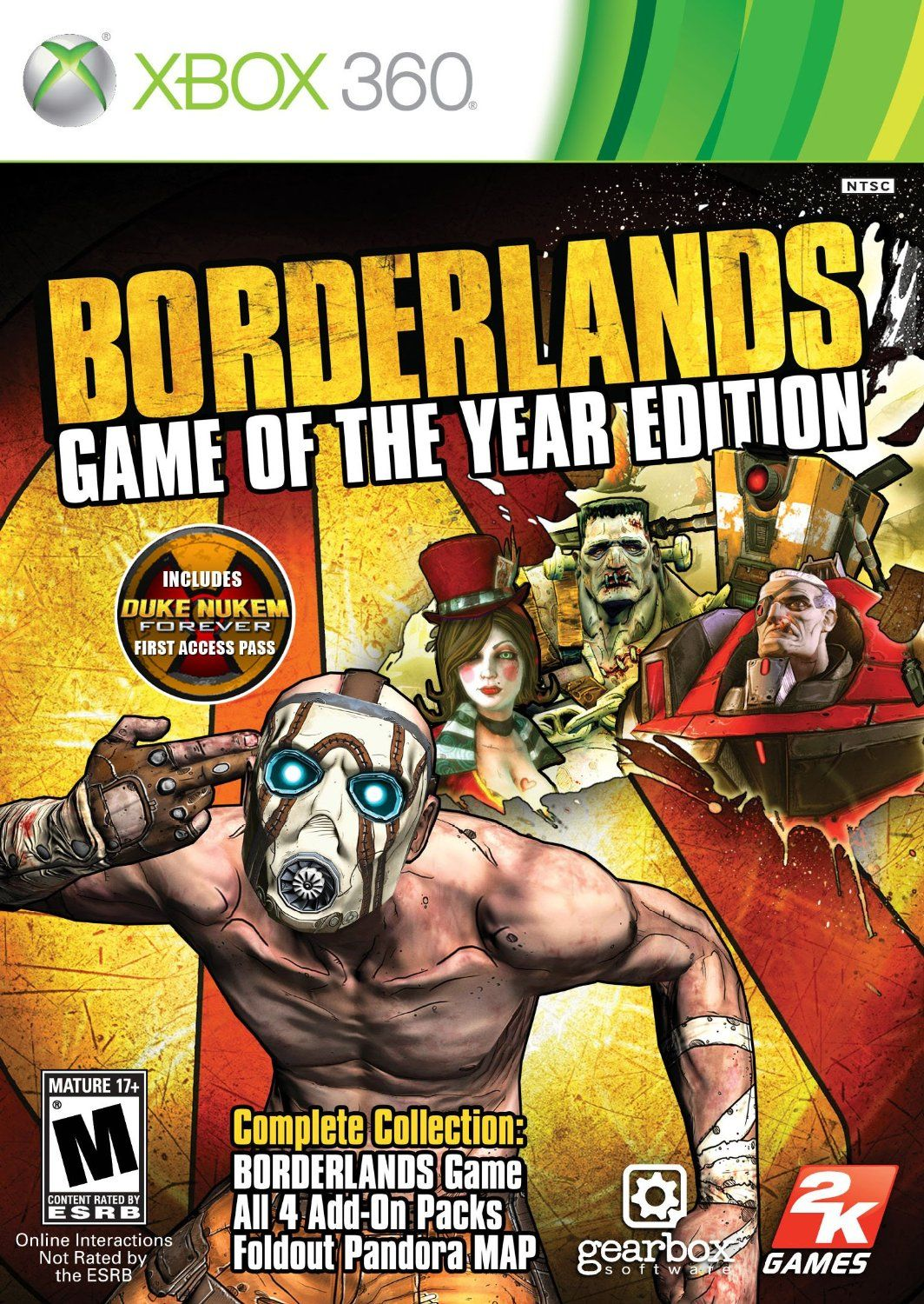 Borderlands for the Xbox 360  | MPL Video Game Collection | Xbox 360