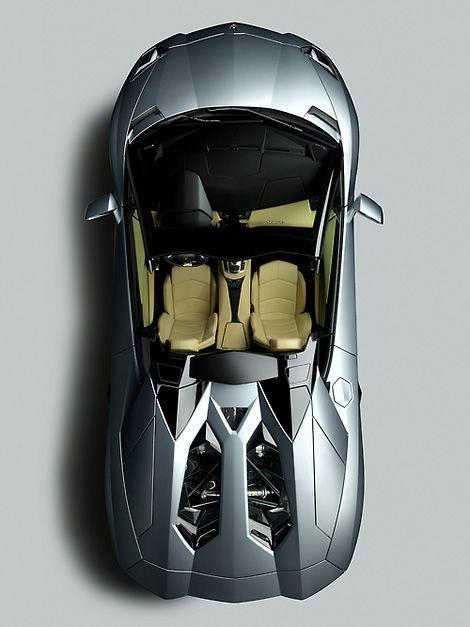 Lamborghini Aventador Roadster.