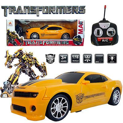 1 16 Transformers Blebee Robot Electric Rc Radio Remote Control Car Kids Toy Type Recommended Age Range 3 Packaging Original Unopened