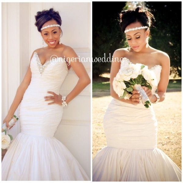 Nigerian Wedding Hair Comes The Bride 6 Stunning Bridal Head