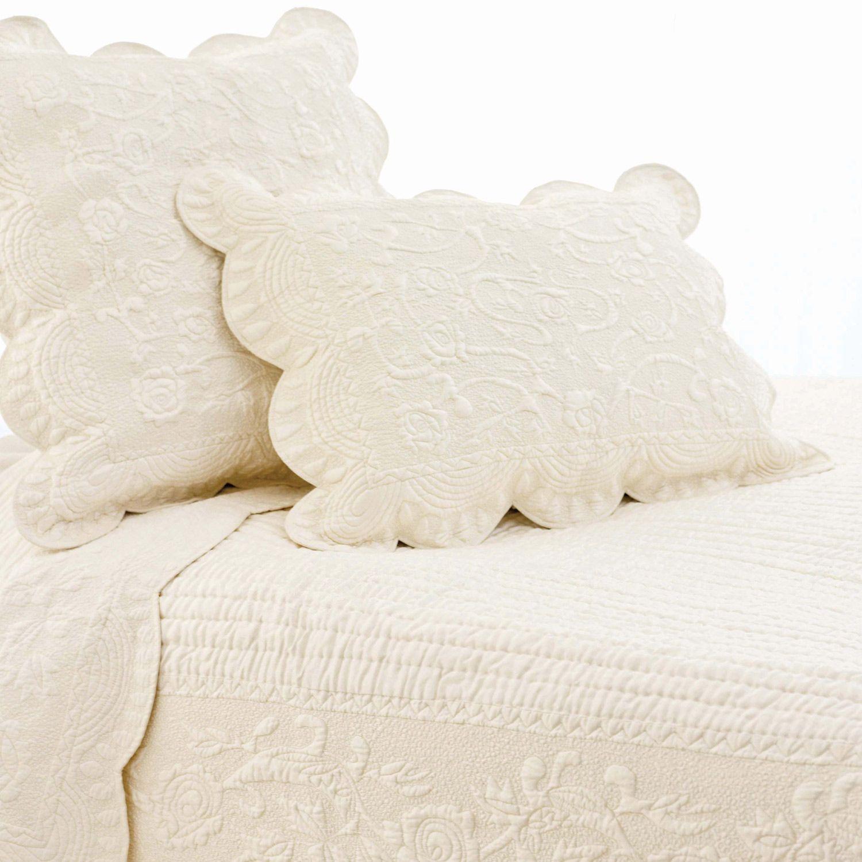 Pine Cone Hill Fanny Ivory Quilt Set @LaylaGrayce | Decor I like ... : ivory quilt set - Adamdwight.com