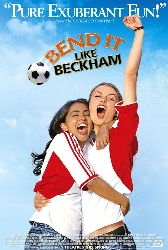 Reel Girl S List Of Top 10 Movies Starring Heroic Girls To Show Your Kids Bend It Like Beckham Sports Movie Movie Stars