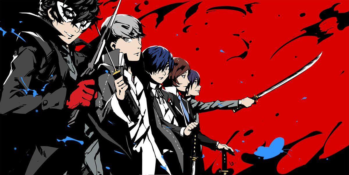 3 On Twitter Persona 5 Persona Crossover Persona 4 Wallpaper hd joker persona 5