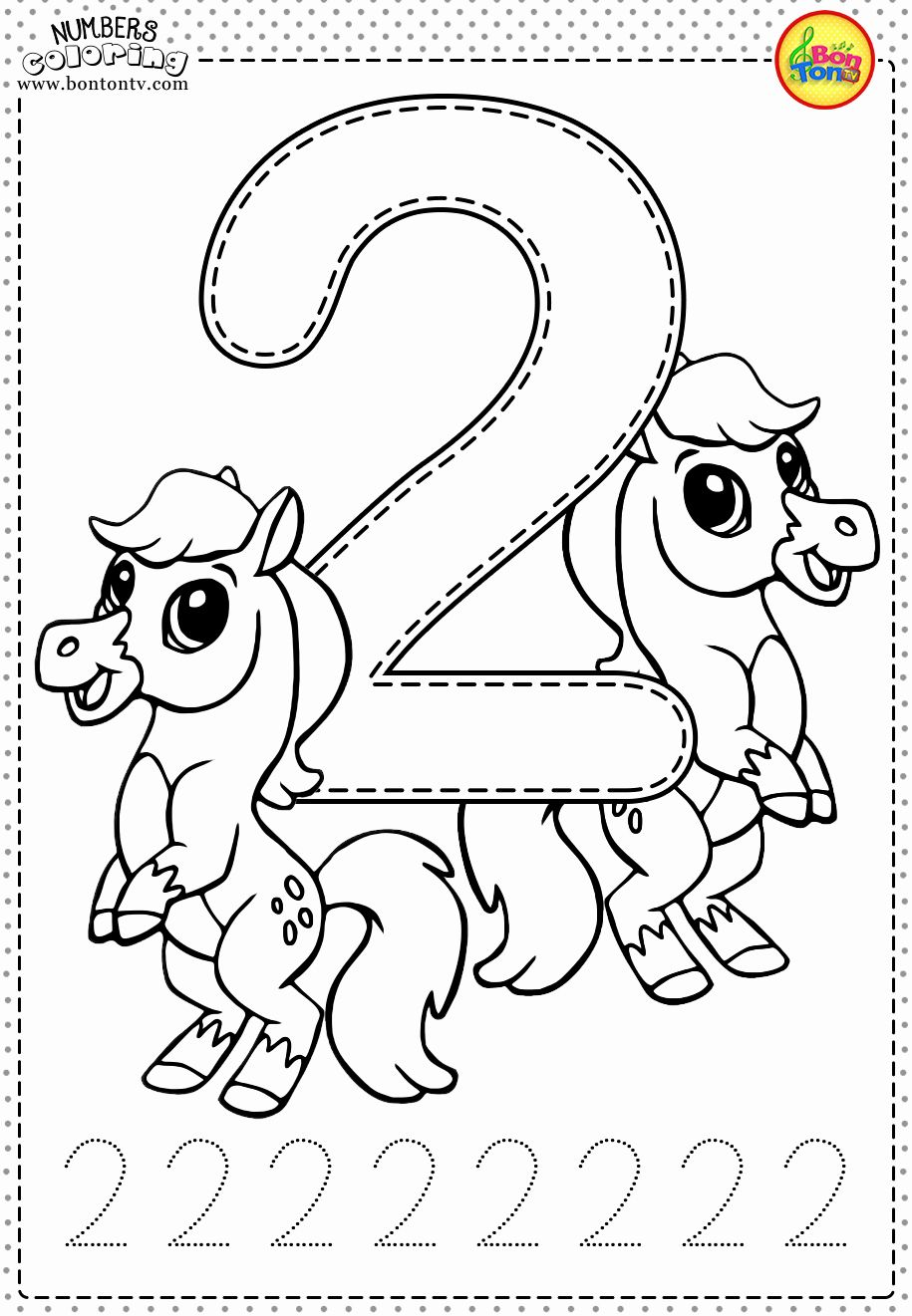 Coloring Pages for Second Graders Best Of Number 2 Prescho
