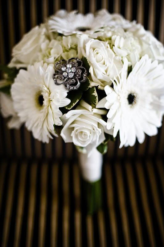 Gerber Daisy and hydrangia Bouquets | had white Gerber Daisy's
