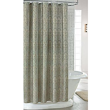 This is the shower curtain I got! If you don't like it I can take it back, but it's too perfect with the towels!