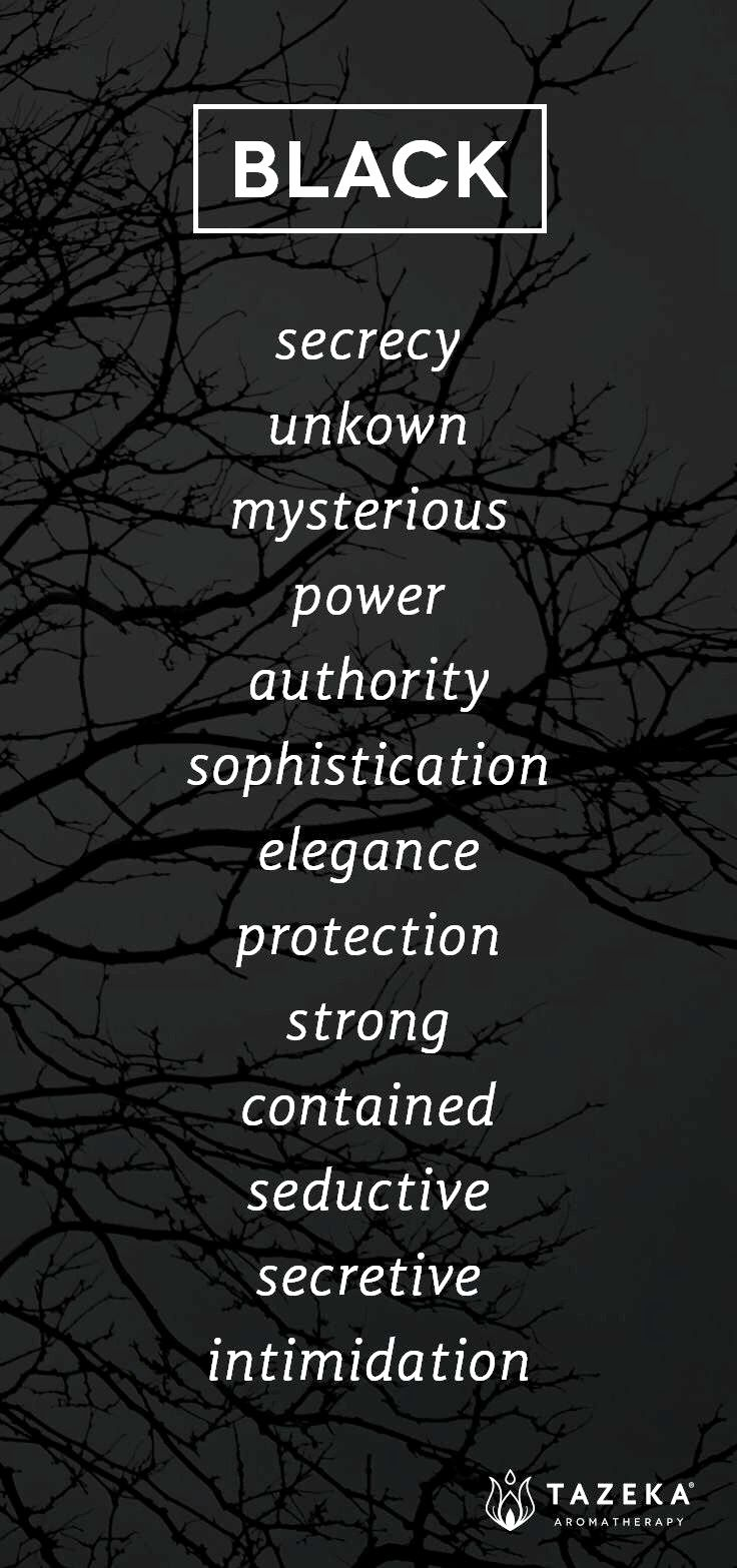 Pin By Krista Russell On Addicted To Black Color Meanings Color Psychology Psychology