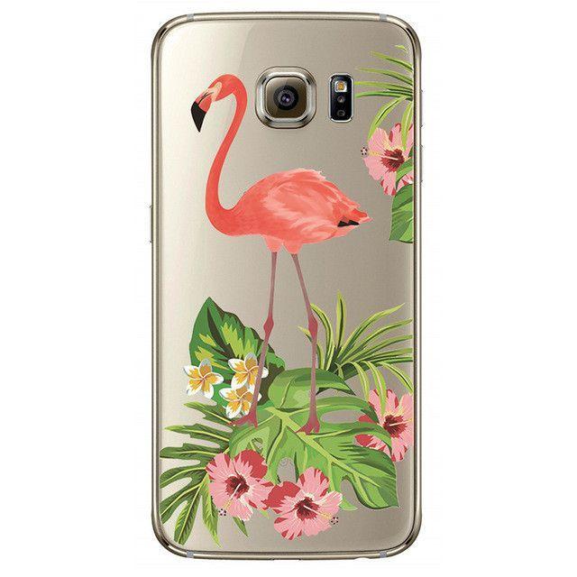 cover samsung s4 flamingo