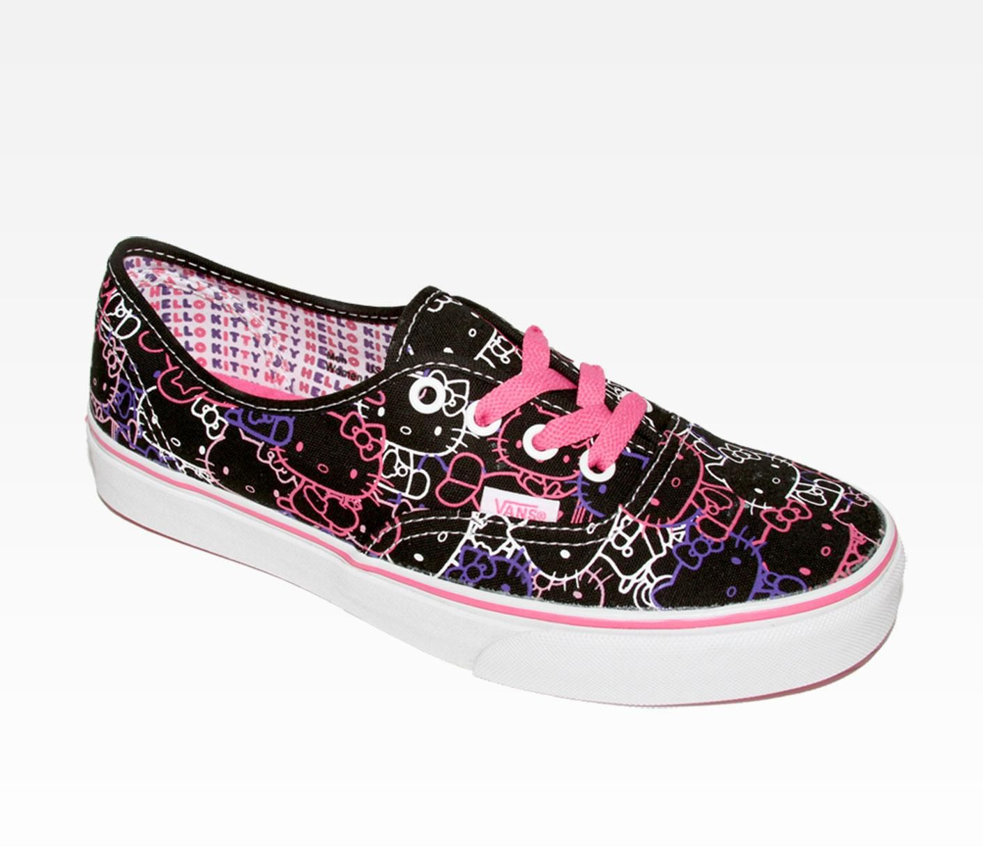 Vans Kitty Lace X UpBlackhello Authentic Hello Kitty UzVMpS