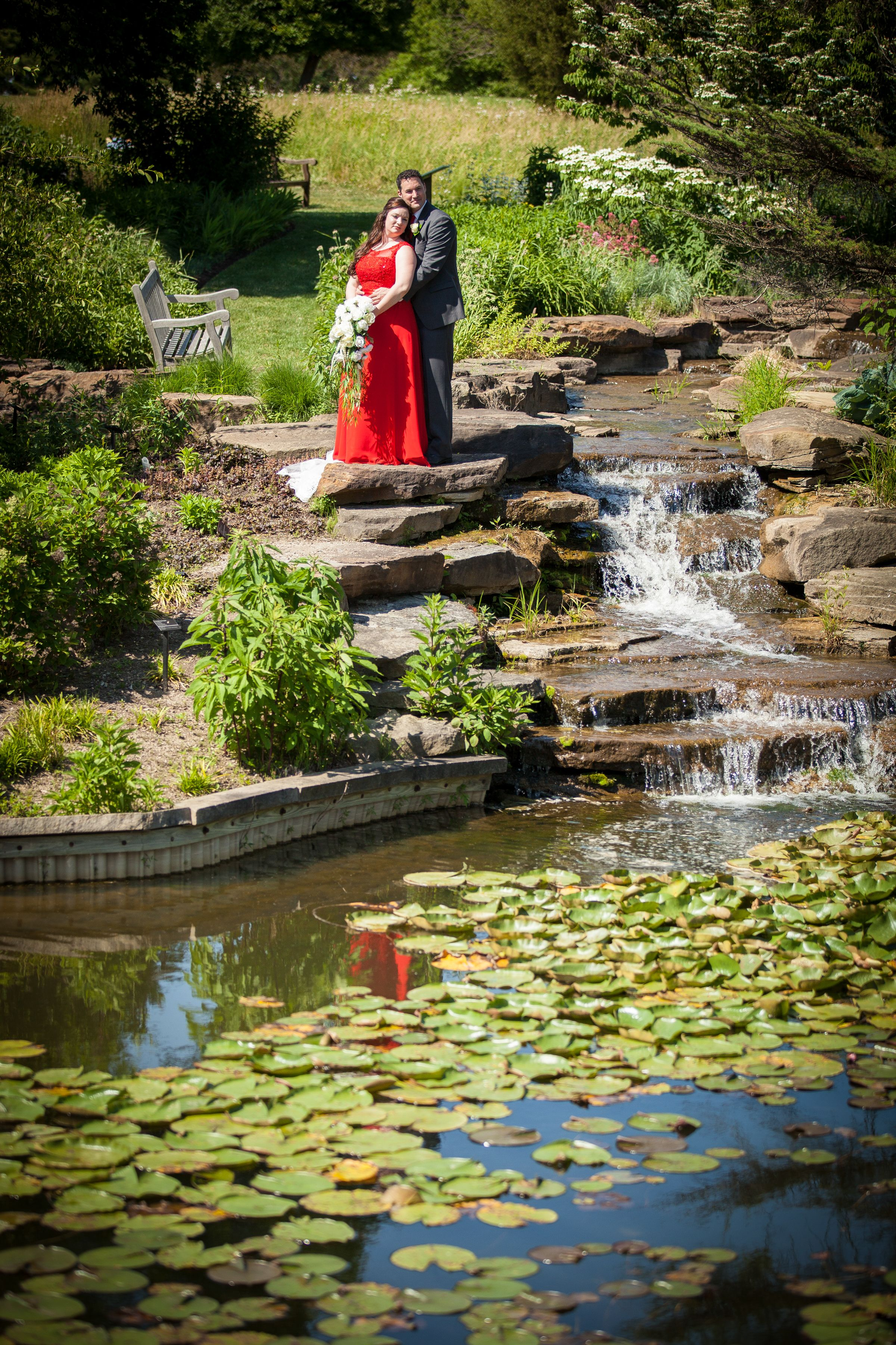 Summer 2016 Wedding Ceremony in the Butterfly Garden at