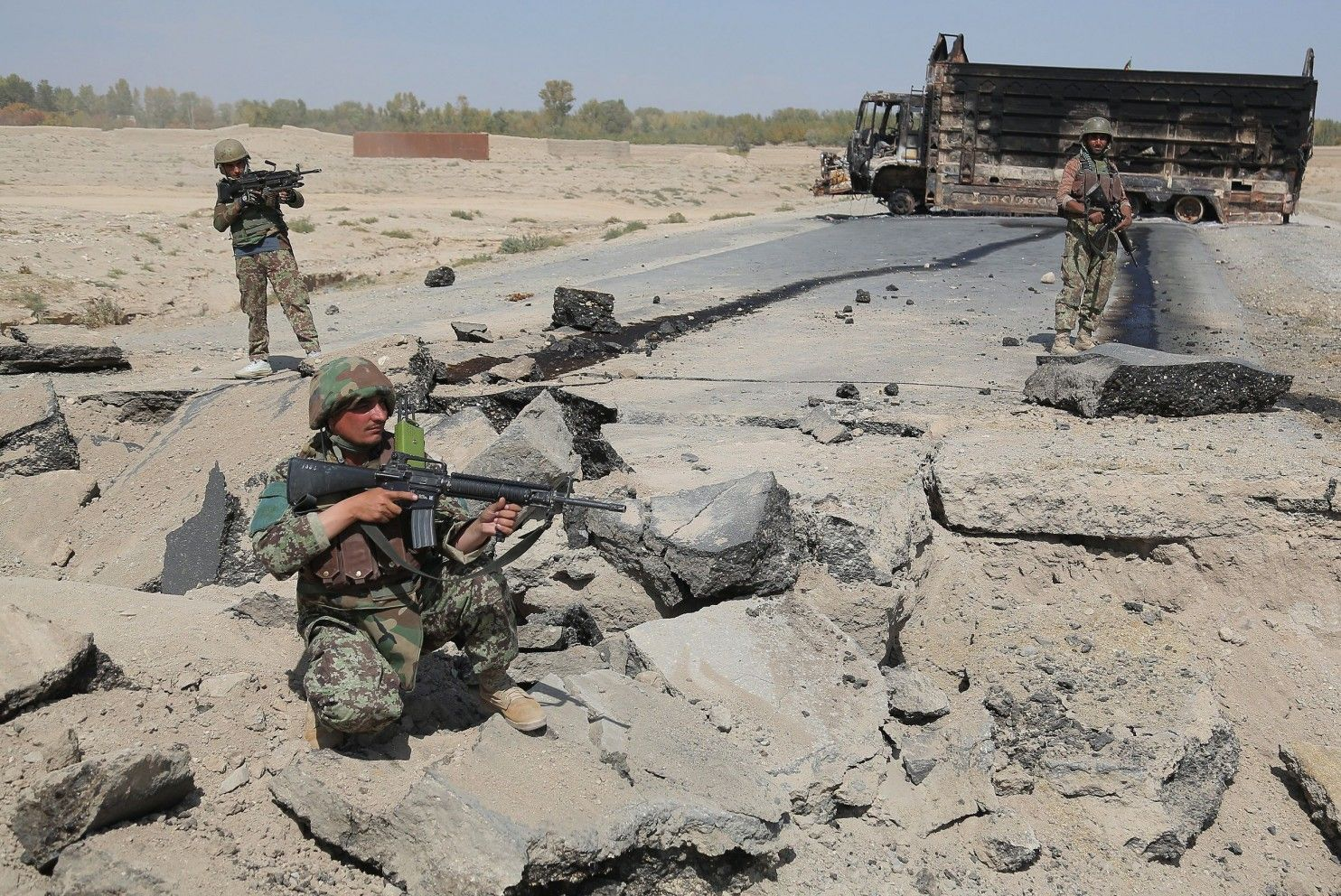 After Kunduz, Taliban is now targeting other Afghan cities - The Washington Post