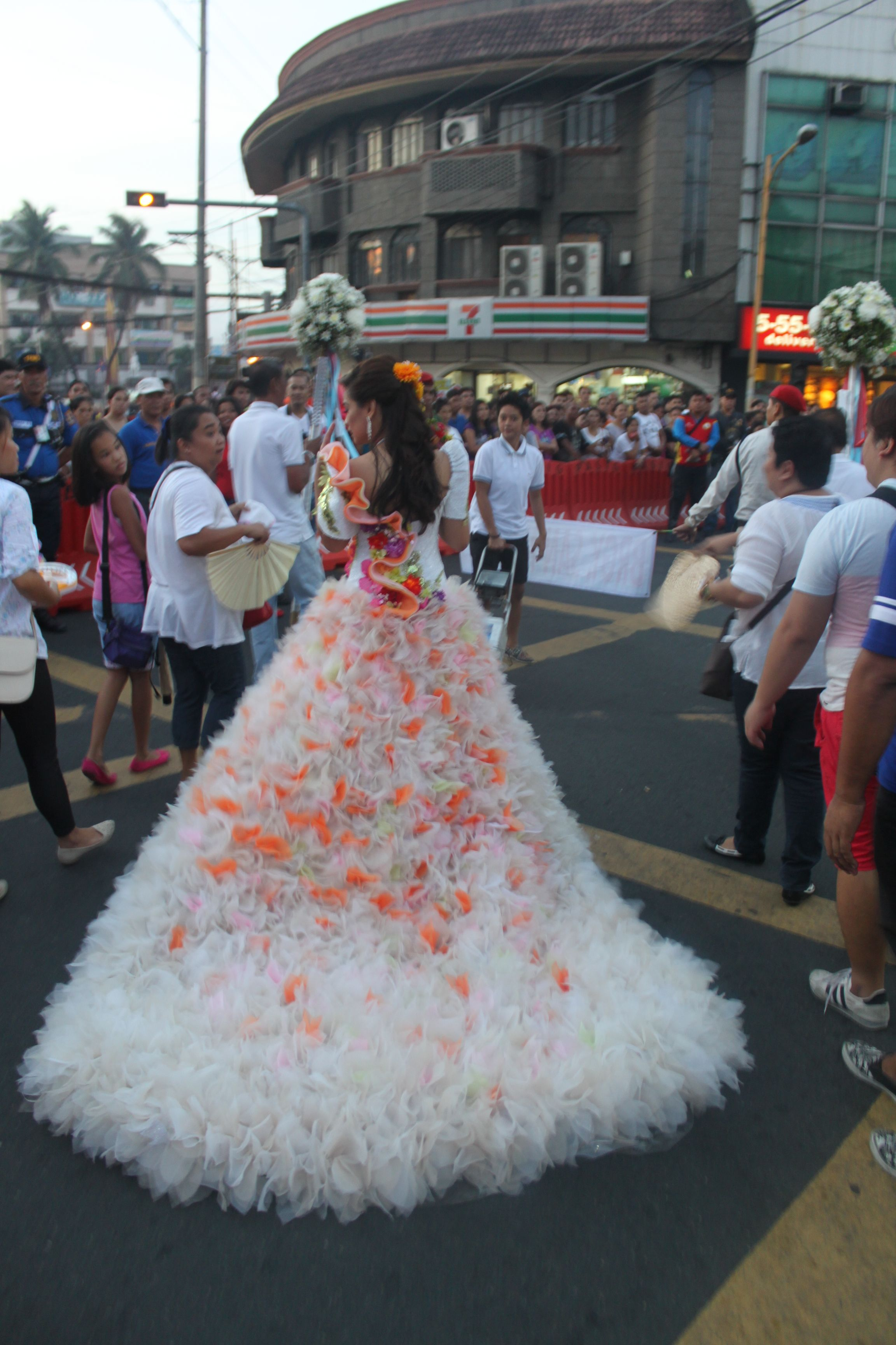 flores de mayo sagala :a creation of Russ Cuevas Couture for Mutya ...