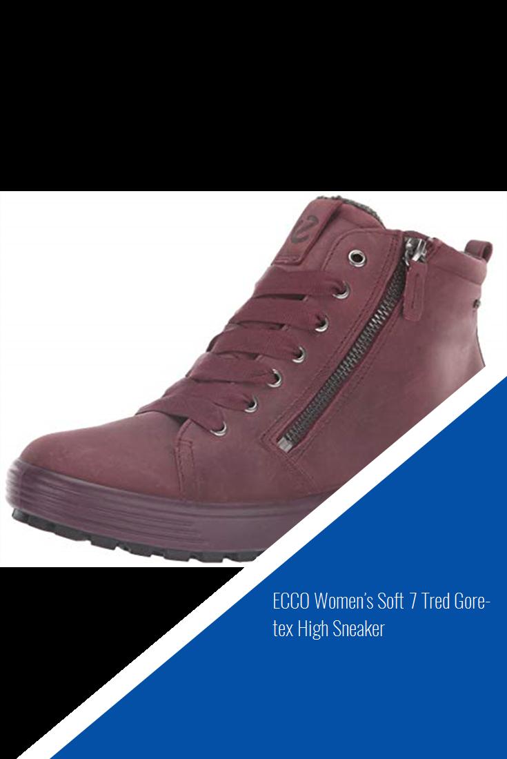 500fb56e ECCO Women's Soft 7 Tred Gore-tex High Sneaker | Shoes in 2019 ...
