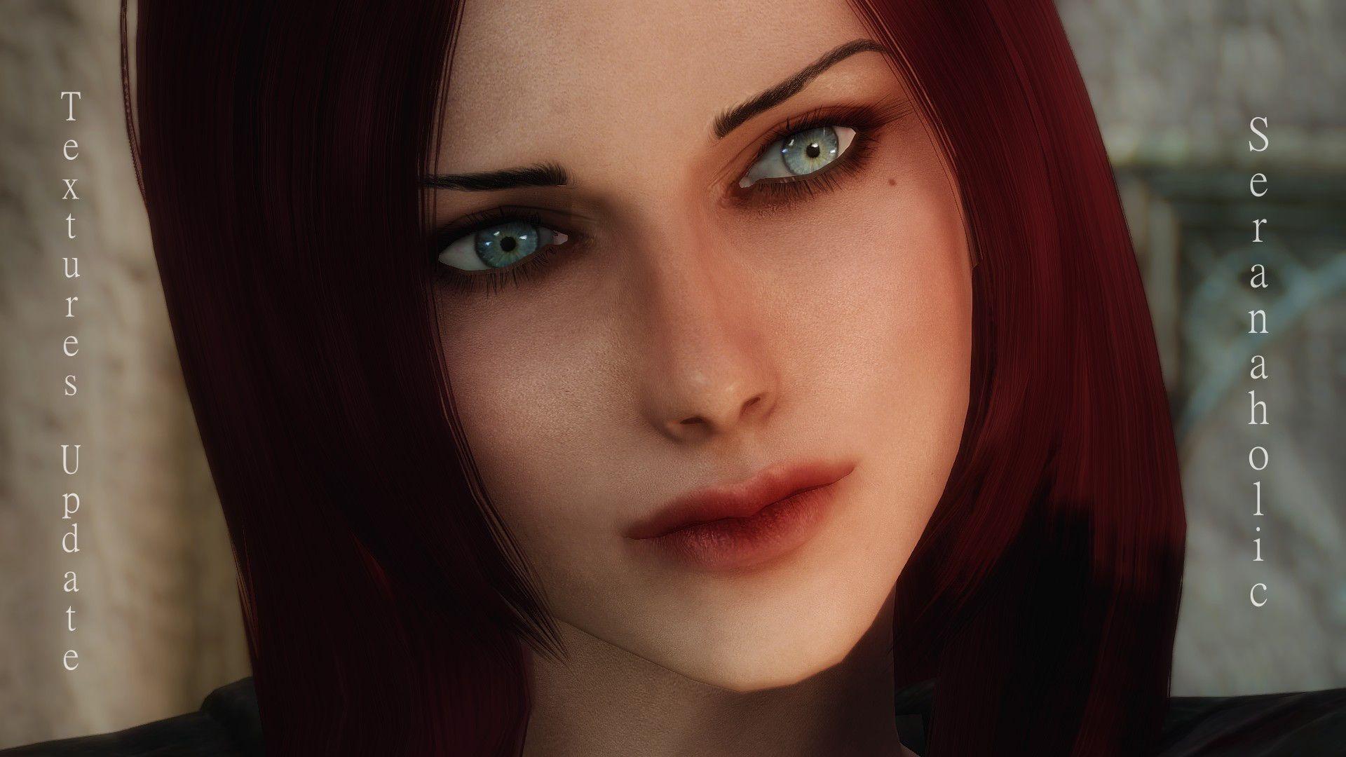 face Skyrim textures female