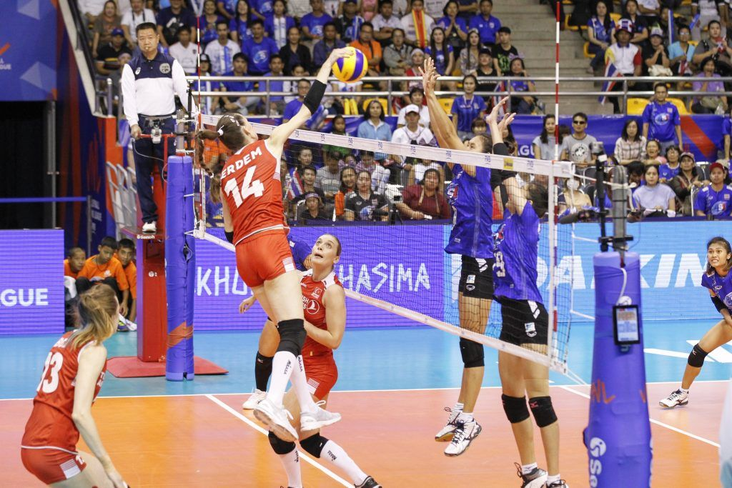 World Volleyball Is Under Construction Thailand Volleyball Hosting