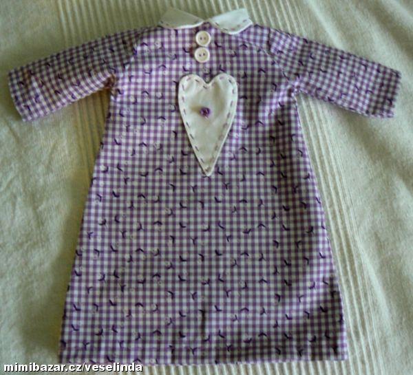 Návod na šití oblečku na hajánka | šítí | Sewing, Tops ...