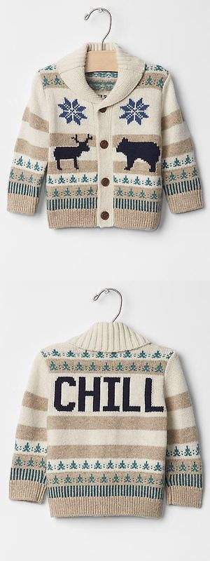 1e828843a Sweaters 147338  Gap Baby Toddler Boys Size 18-24 Months Ivory Fair ...
