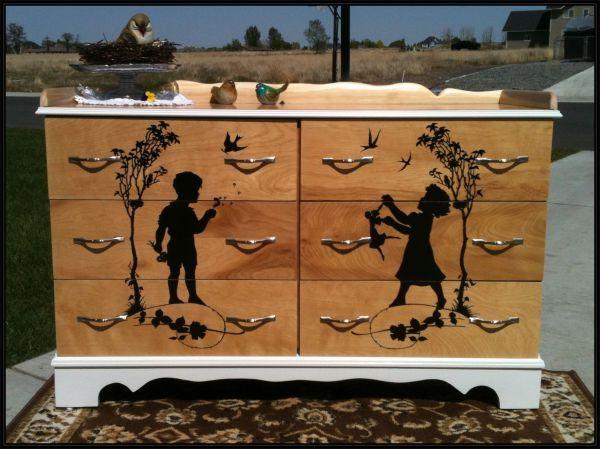 $700.  Handcrafted dresser.