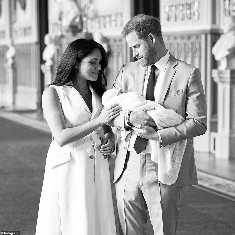 Harry And Meghan Reveal Their Newborn Son Is Called Archie