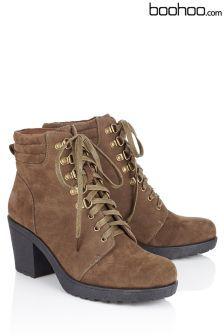 Boohoo Chunky Hiker Boots