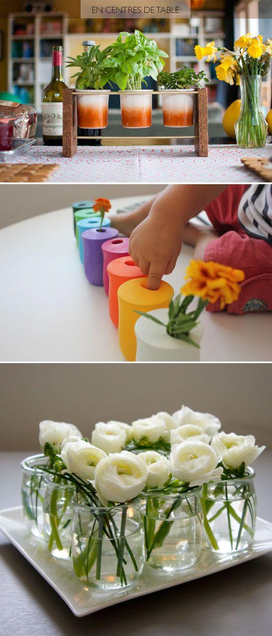 diy recycled yogurt jar m a k e pinterest pots de yaourt pots et diy. Black Bedroom Furniture Sets. Home Design Ideas