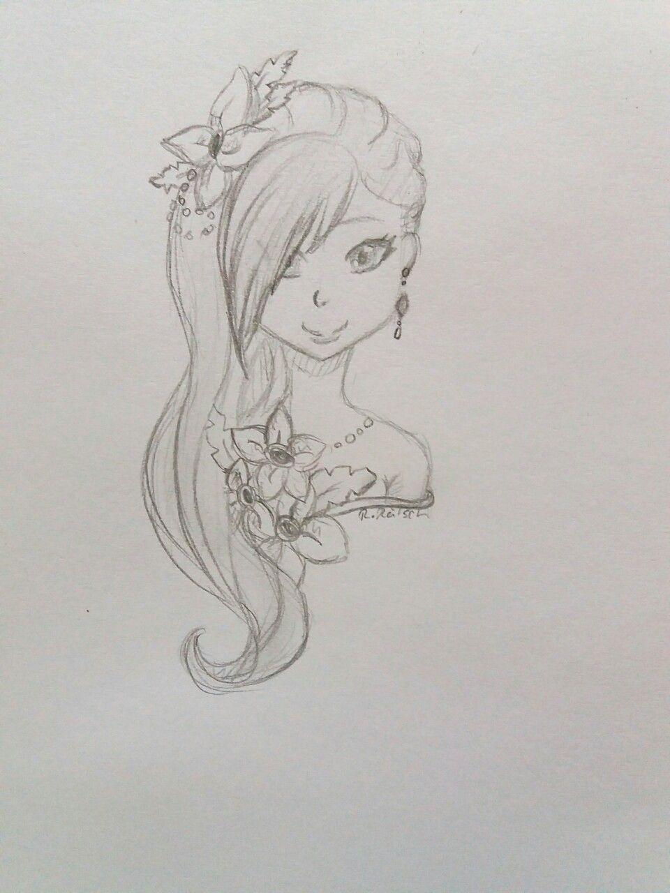 Animegirl Zeichnen Leicht Drawings Drawings Sketches Art