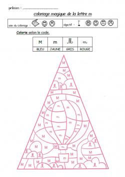 Coloriage Magique Alphabet Majuscule.Coloriages Magiques Avec Les Lettres Gs Maternelle School