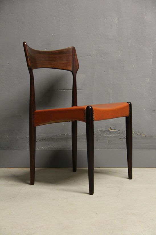 Atelier Pi 4 rosewood chairs christian linneberg atelier pi berlin chair