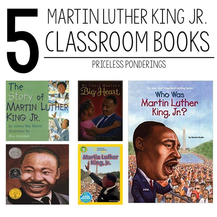 Here Is A List Of My Top 5 Martin Luther King Jr Picture Books