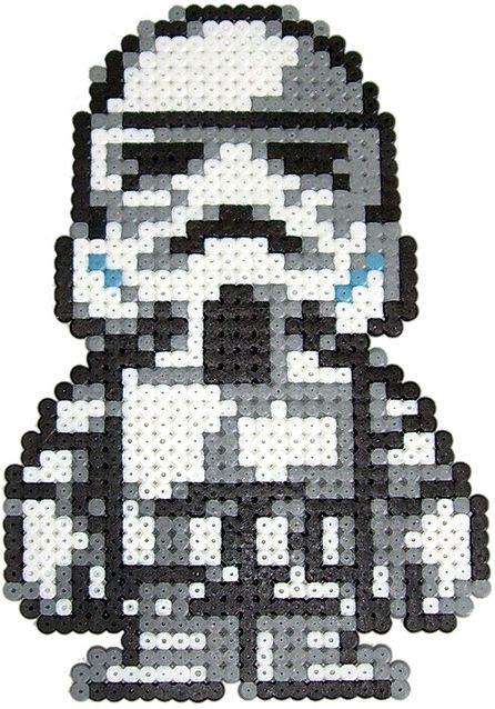Hello Kitty Star Wars Perler Beads By Mimi Jong Bugelperlen