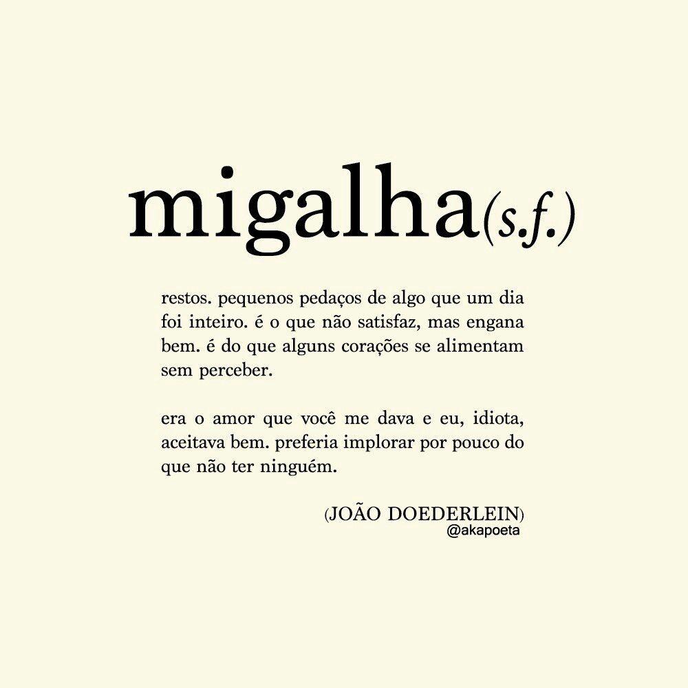 Migalha - João Doederlein