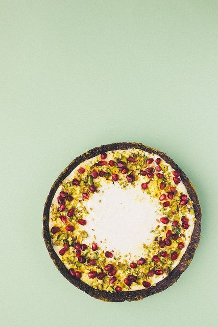 Labneh Tart (No Sugar, No Bake) by simpleprovisions, via Flickr