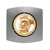 Hpm 275w Matt Silver Single Bathroom Heater With Images Bathroom Heater Bathroom Heat Lamp
