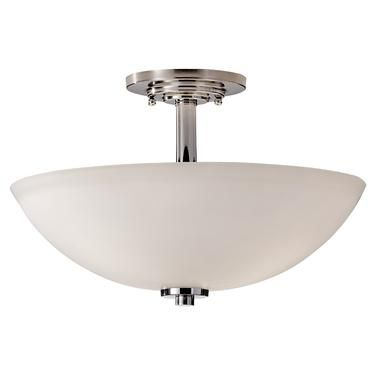 SF308PN,3 - Light Indoor Semi-Flush Mount ,Polished Nickel Pantry