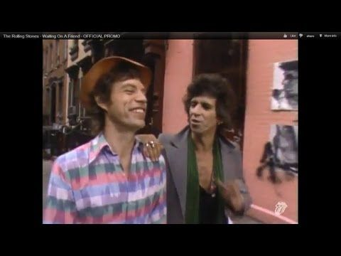 The Rolling Stones Waiting On A Friend Official Promo Bandas