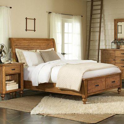 Laurel Foundry Modern Farmhouse Willow Storage Platform Bed Size ...